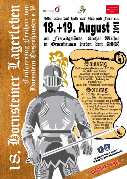 18. Hornsteiner Lagerleben des Fanfarenzug Orsenhausen am 18. und 19.08.18